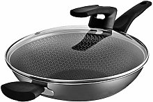 AMYZ Nonstick Coating Saute Pan,Stainless steel