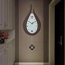 AMYZ Pendulum Wall Clock with Living Room,Modern