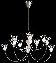 Anais 10 Light Chandelier Selene Illuminazione