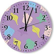 Analog Wall Clock Battery Operated with Silent
