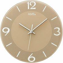 Analogue 30cm Wall Clock AMS Uhrenfabrik Colour: