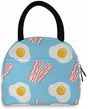 Anantyy Breakfast Bacon Poached Egg Lunch Bag