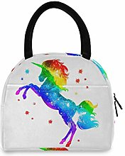 Anantyy Colorful Unicorn Lunch Bag Insulated Lunch