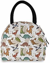 Anantyy Cute Animal Dinosaur Pattern Lunch Bag