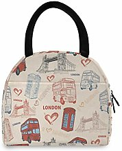 Anantyy Love London Lunch Bag Insulated Lunch Box