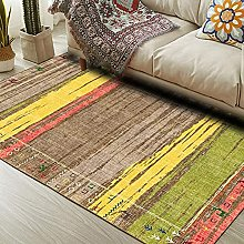 ANBAI Vintage Rug Traditional Carpet with