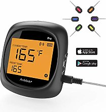Anbber Barbecue Thermometer Bluetooth with 6