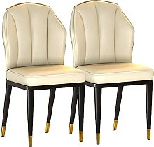 Anbo Dining Chairs Set of 2, Modern Mid Century