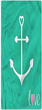 Anchor Runner Rug, 2'x3', Anchor with