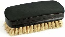 and Shoe Brush Pig Hair Shoes Oil Polished Brush