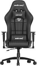 Anda Seat Jungle Faux Leather Gaming Chair - Black
