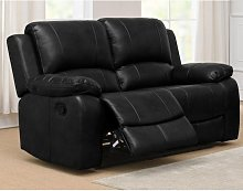Andalusia Recliner Leather Gel Sofa & PU 2 Seater