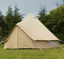 Andes 4m 100% Cotton Canvas Bell Tent With Heavy
