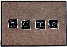 andiamo Diavolo door mat, Polyamide, taupe, 39x58