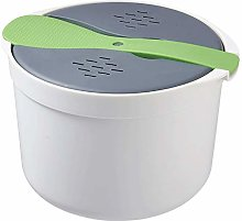 Andifany 2L Kitchen Microwave Steam Rice Cooker