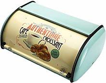 Andifany Vintage Bread Box Storage Bin Rollup Top