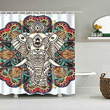 ANDMAEVA Elephant Waterproof Polyester Shower
