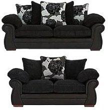 Andorra 3-Seater Plus 2-Seater Sofa Set (Buy And