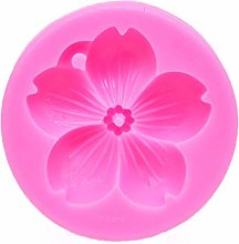 Andouy 3D Flower Silicone Mold DIY Fondant Cake