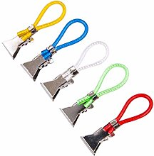 Andouy Durable Tea Towel Hanging Clips Clip On