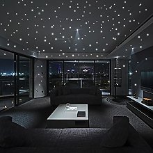 Andouy Wall Stickers Star Glow in The Dark 407Pcs