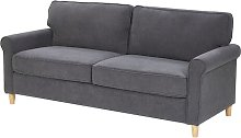 Andrea 3 Seater Sofa Marlow Home Co. Upholstery