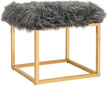 Andres Footstool Canora Grey Upholstery Colour: