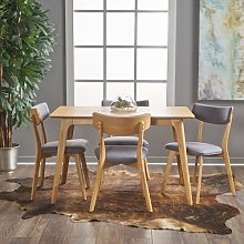 Andrew Dining Set with 4 Chairs Langely Street