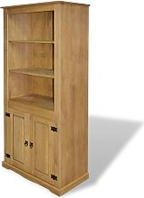 Andrew Display Cabinet by August Grove - Brown