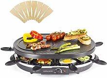 Andrew James 8 Person Traditional Raclette Grill