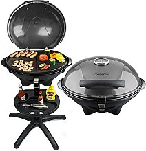 Andrew James BBQ Electric Grill Barbecue with 5