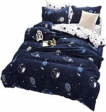 Andrui Bedding Set Star Planet Galaxy Space