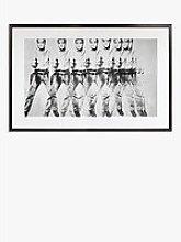 Andy Warhol - 'Eight Elvises' Wood Framed