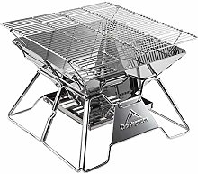 AndyJerzy Barbecue Grill Foldable Portable