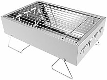 AndyJerzy Barbecue Grill Portable Charcoal BBQ
