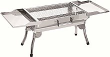 AndyJerzy Barbecue Grill Portable Stainless Steel