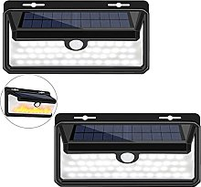 Aneagle 2Pack Solar Wall Lights Outside,Solar