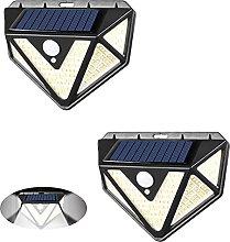 Aneagle 2Pack Wireless Solar Light,Solar Lights