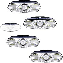 Aneagle 4Pack Solar Lights Outdoor,104 LED Motion