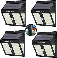 Aneagle 4Pack Solar Lights Outdoor, Wireless Solar
