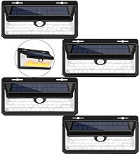 Aneagle 4Pack Solar Wall Lights Outside,Solar