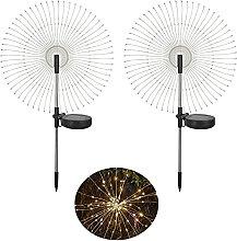 Aneagle Solar Firework Garden Lights Outdoor,2Pack