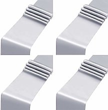 Aneco 4 Pack Satin Table Runner 12 x 108Inch Long