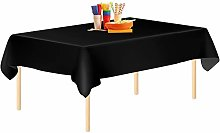 Aneco 6 Pack Disposable Table Cover Tablecloth