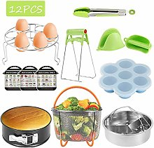 Anemoner 12PCS Instant Pot Accessories Set,