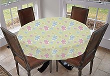 Angel Bags Nursery Round Tablecloth,Baby Toy