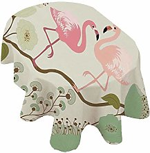 Angel Bags Peacock Oval Tablecloth,Blossoming