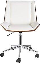 Angeles Task Chair Blue Elephant Upholstery