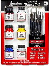 Angelus Basic Kit - 11 Pieces - Shoe and Leather