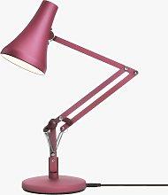 Anglepoise 90 Mini Mini LED Desk Lamp, Berry Red